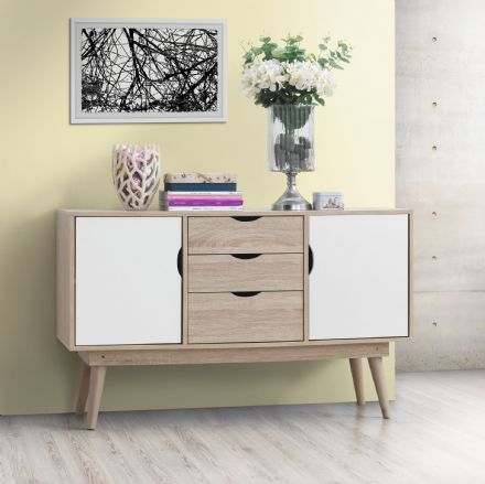 Alford Sideboard with 2 Doors & 3 Drawers